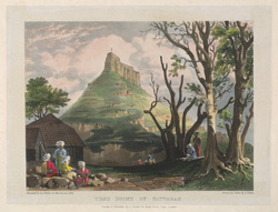 West point of Sattarah. Plate 4 of 'Eight Most Splendid Views of India, sketched by an Officer in the Indian Army', published by Baron A Friedel, London, 1833.